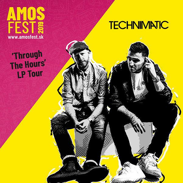 Technimatic sa v rámci európskeho tour zastaví na AmosFeste