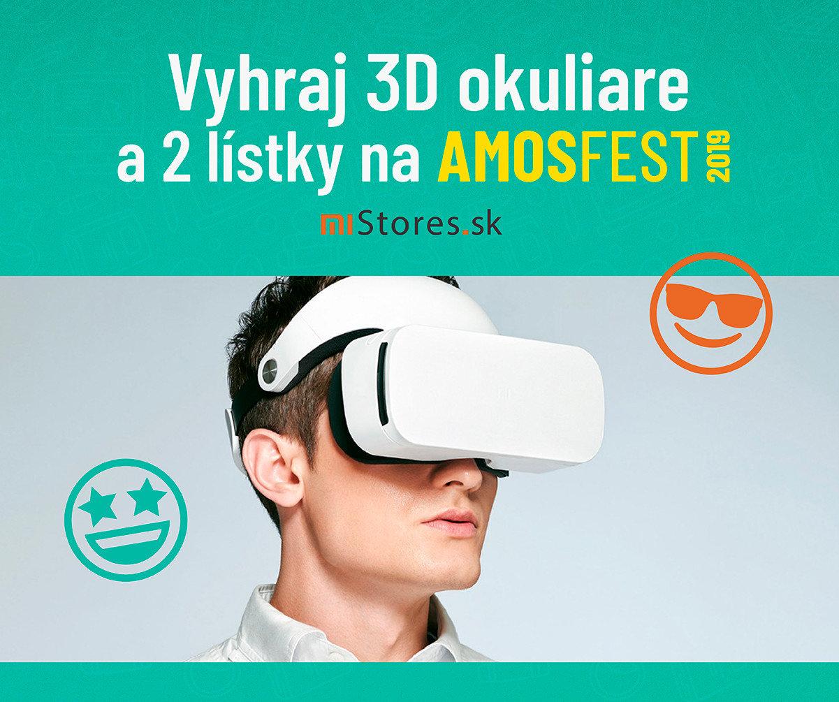 Súťaž o 3D okuliare a lístky na Amosfest