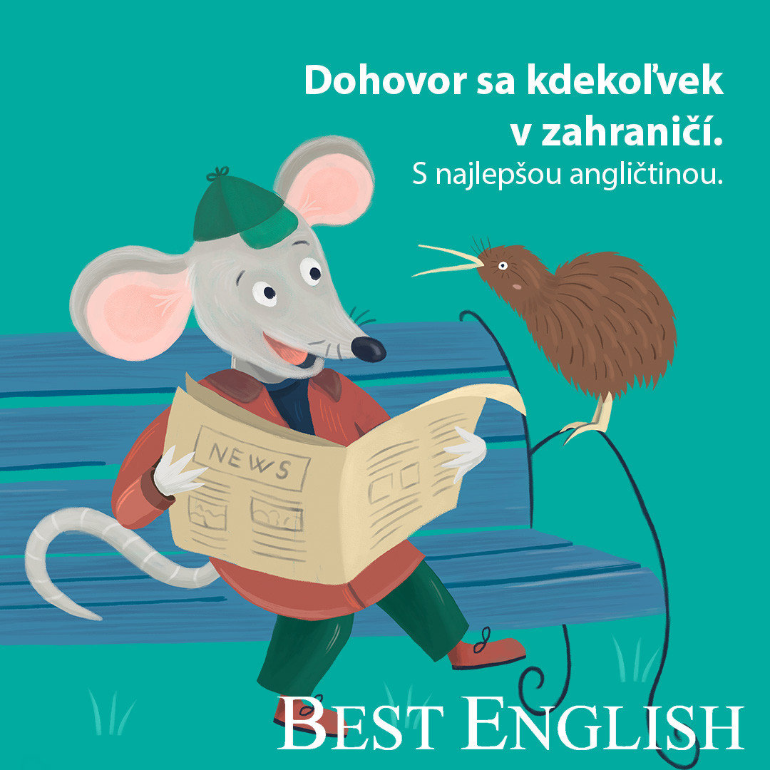 Partnerom Amosfestu je aj Best English