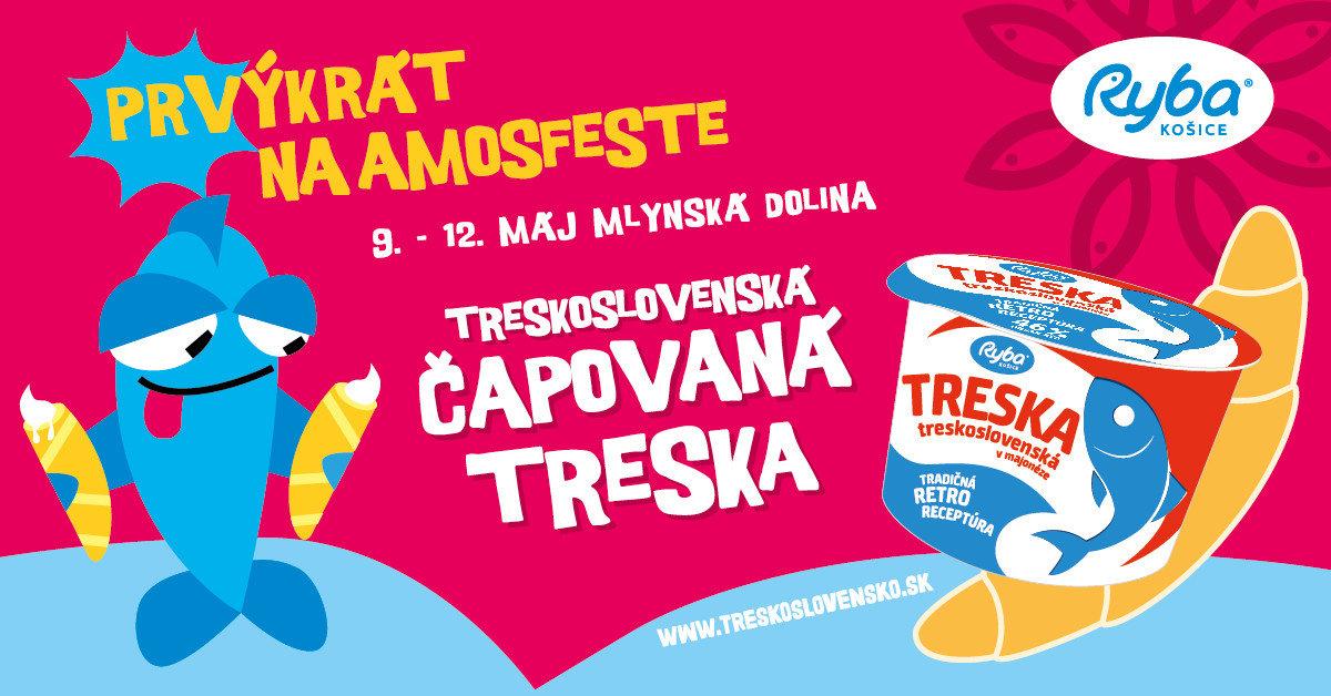 Na Amosfeste bude aj čapovaná Treskoslovenská Treska